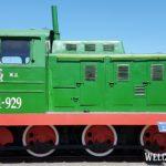 Промышленный тепловоз серии ТГМ1-929 1961г