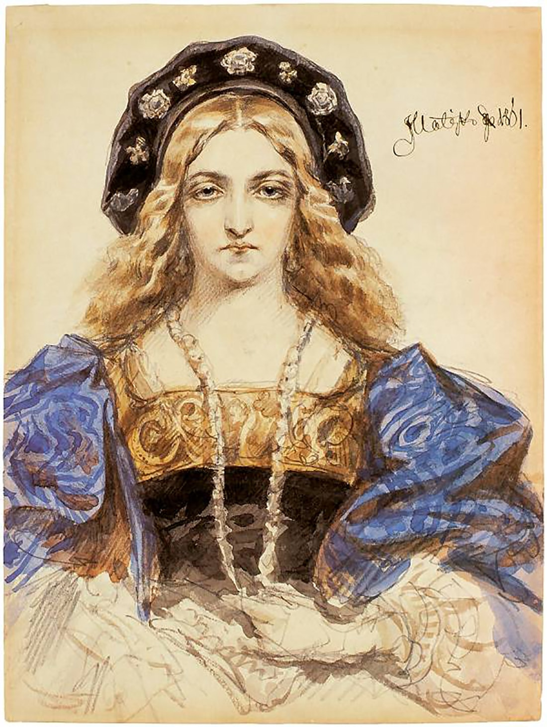 Бона Сфорца - миланская принцесса