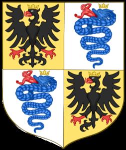 Герб Миланского герцогства