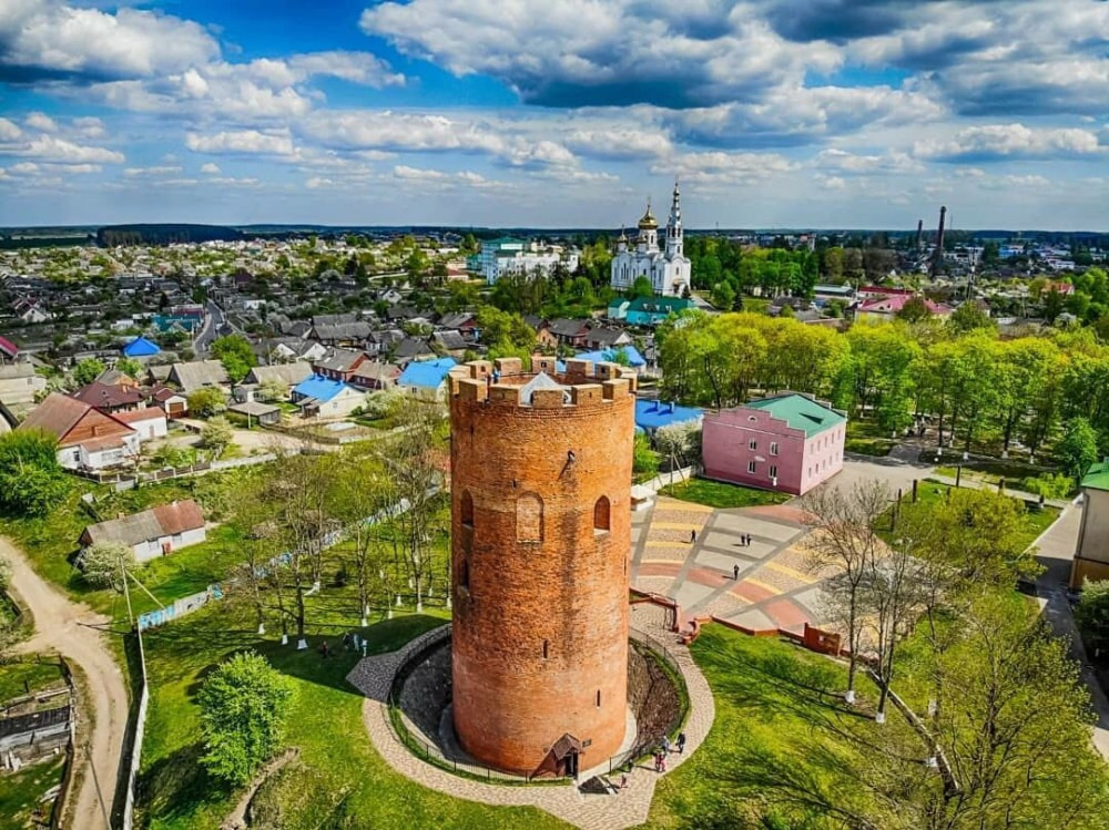 Каменецкая Вежа - уникальня башня в каменце