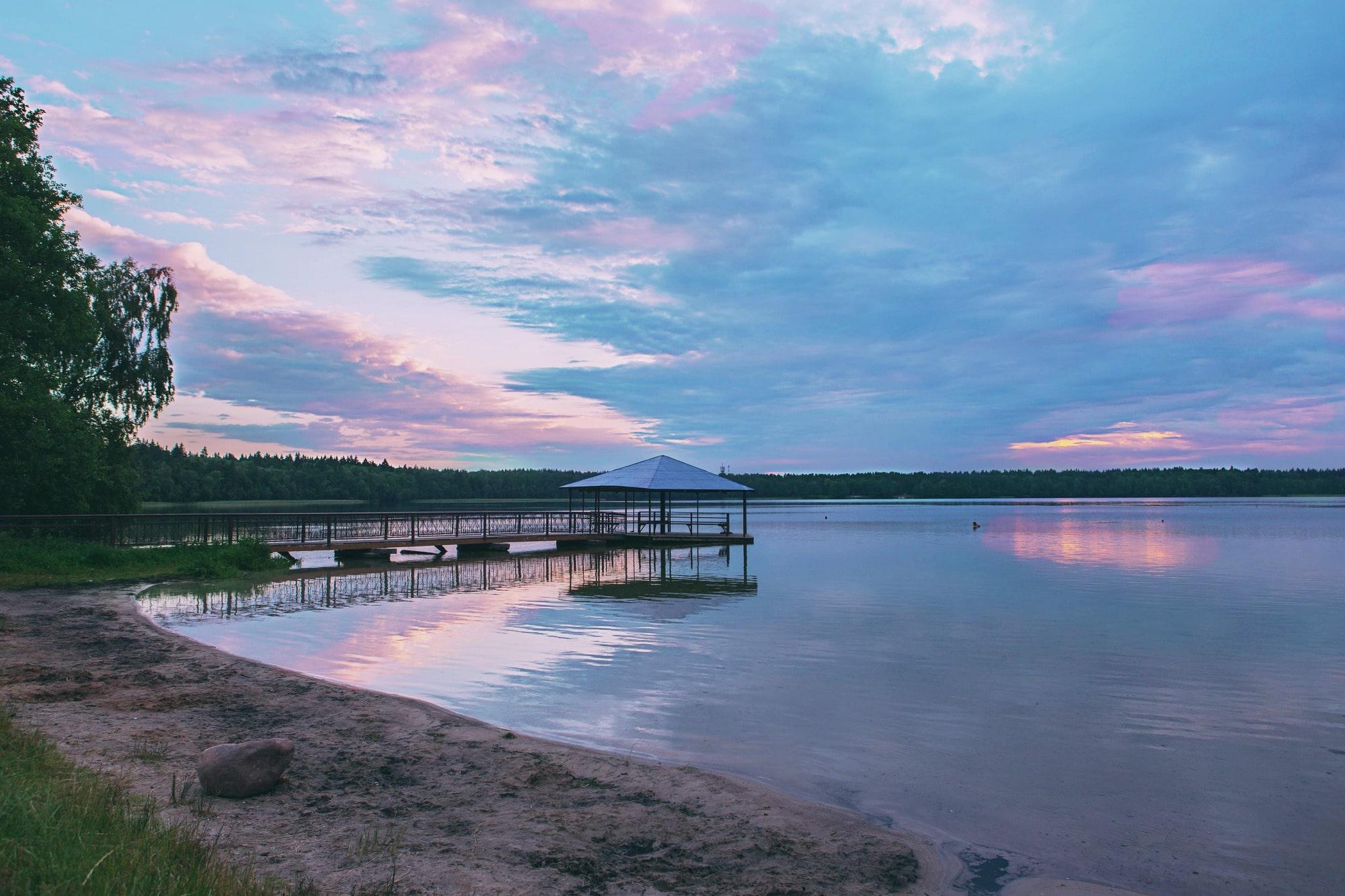 Озеро Свитязь скрывает затонувший город