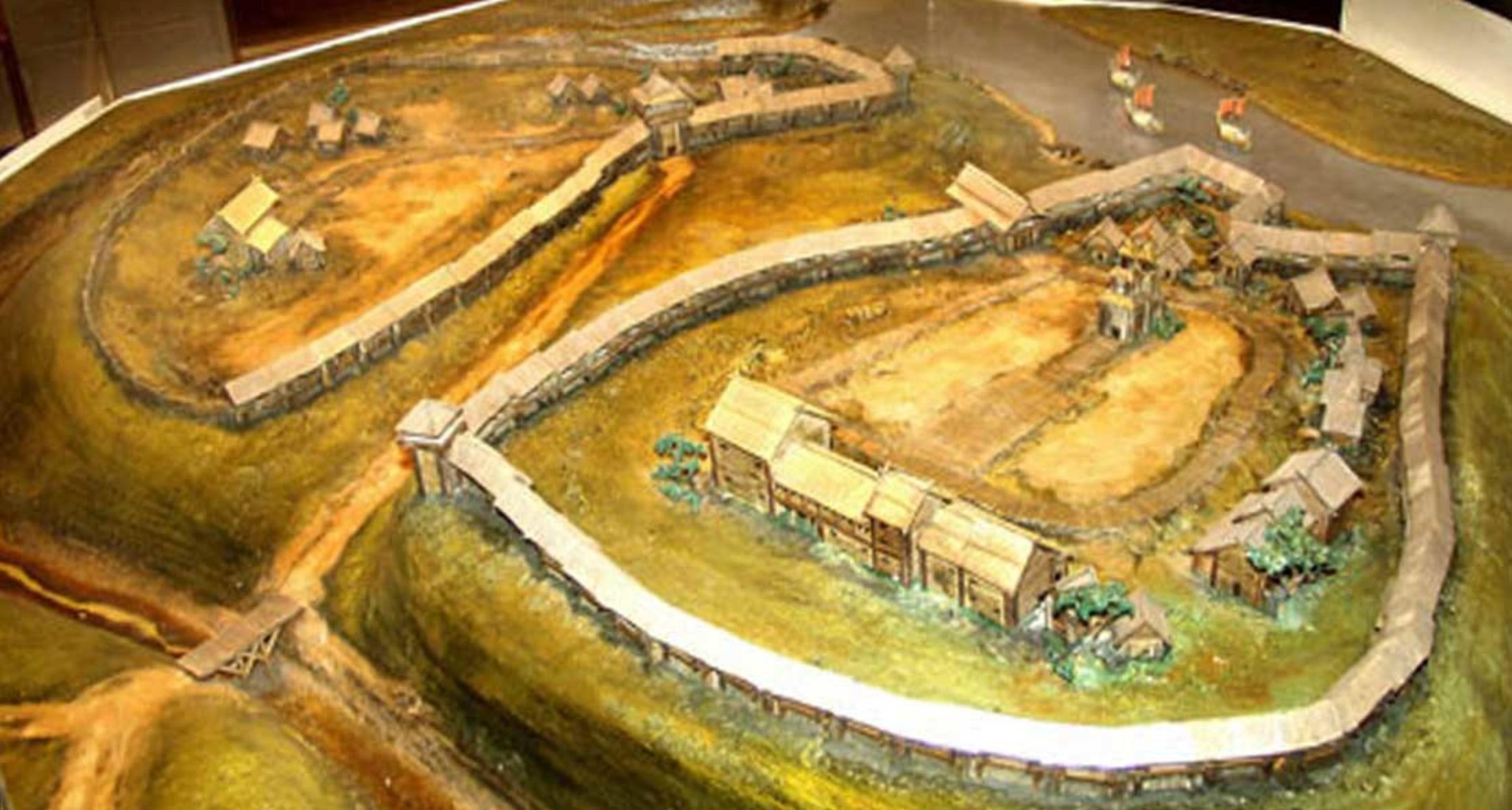 Полоцк в IV веке - варяжское поселение