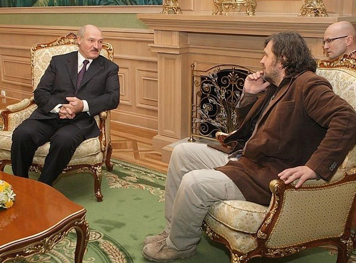 Президет Беларуси и Эмир Кустурица