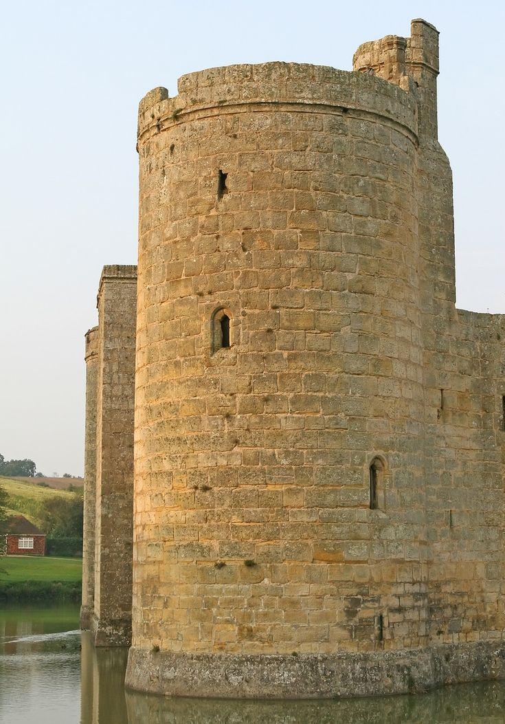 Типичный рыцарский замок раннего средневековья