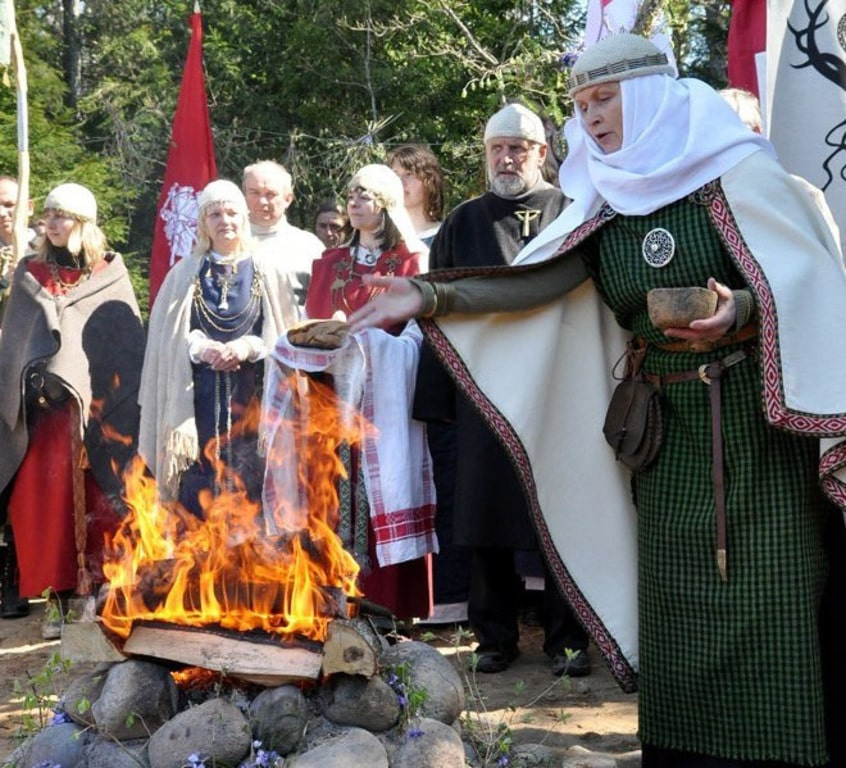 Фольклорные праздники на Полесье