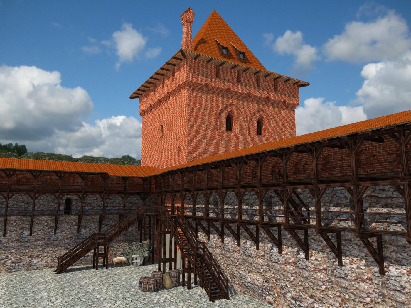 Башня с подземной тюрьмой Кревского Замка
