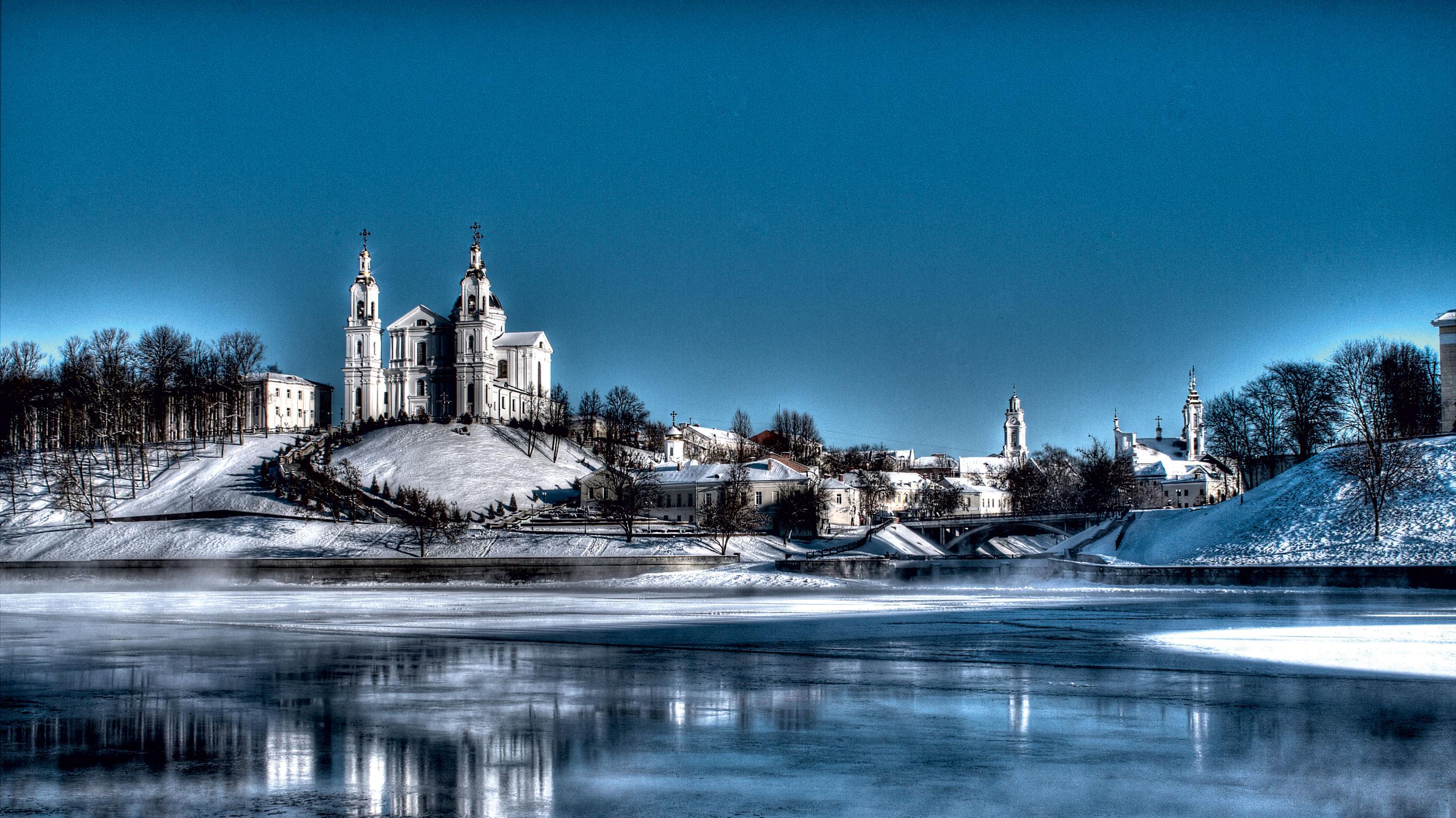 Беларусь зимой прекрасна