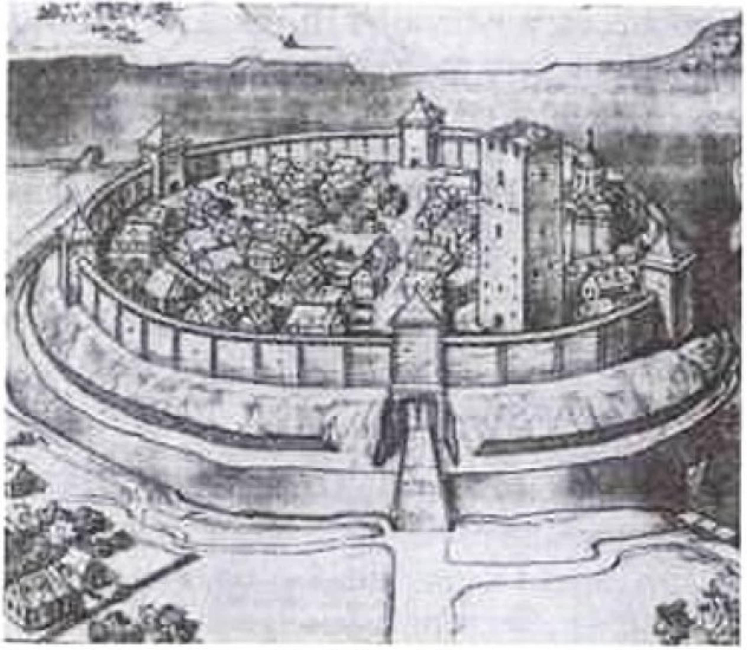 Брест еще в 13 веке сохранял планировку форта викингов