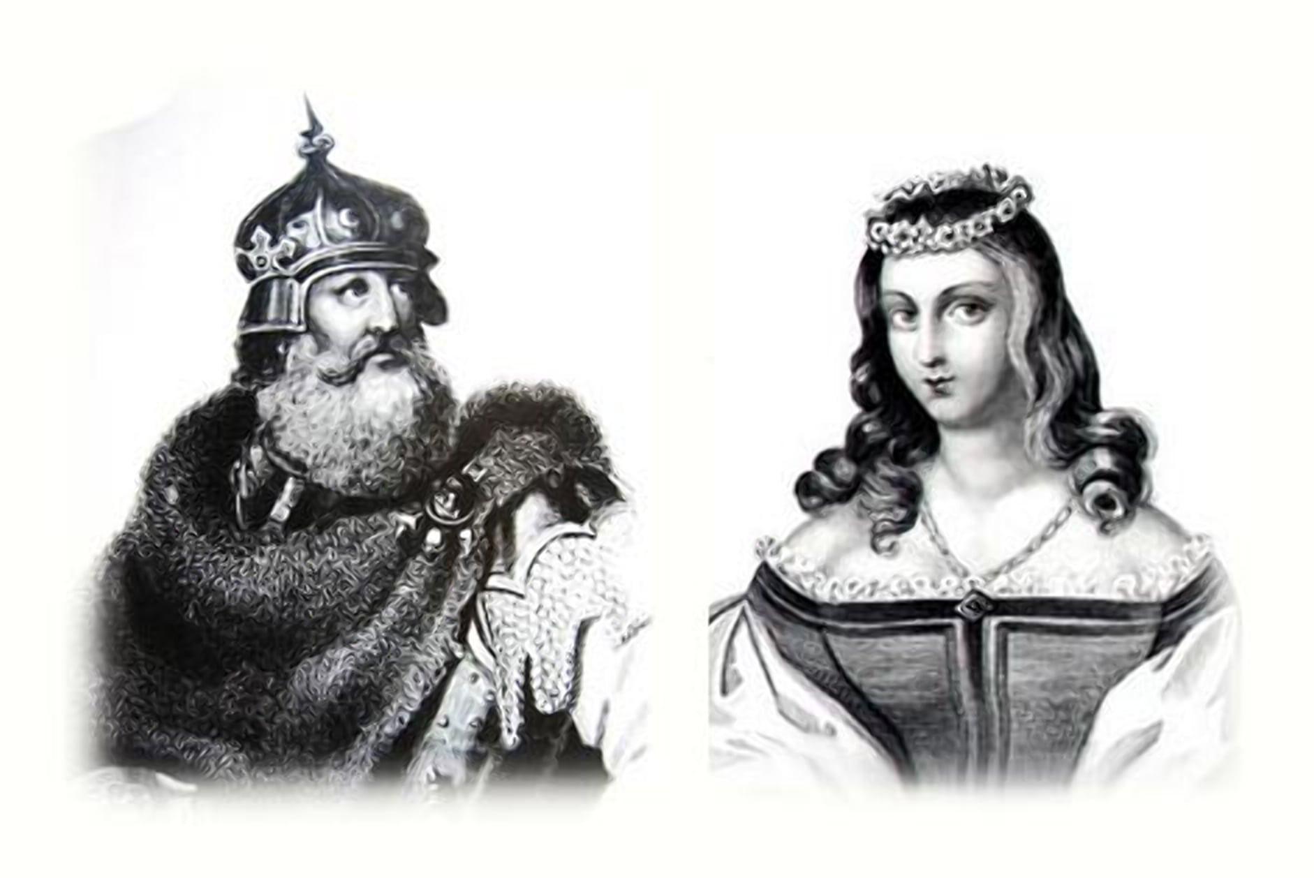 Великий князь Кейстут и его язычница жена - Берута