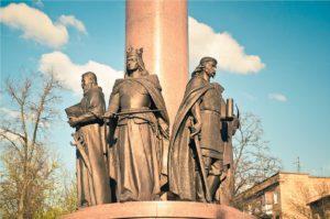 Витовт на памятнике тысячелетия Бреста