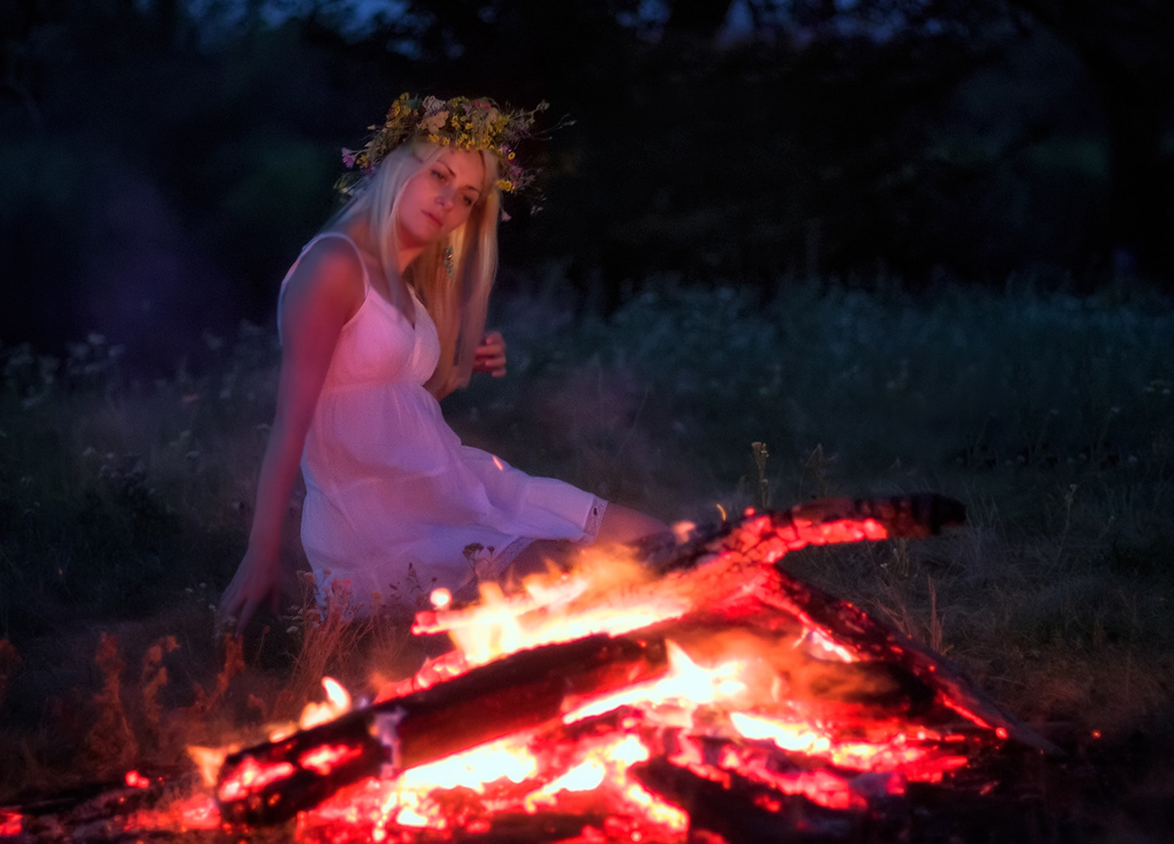 Романтичный праздник Купалье