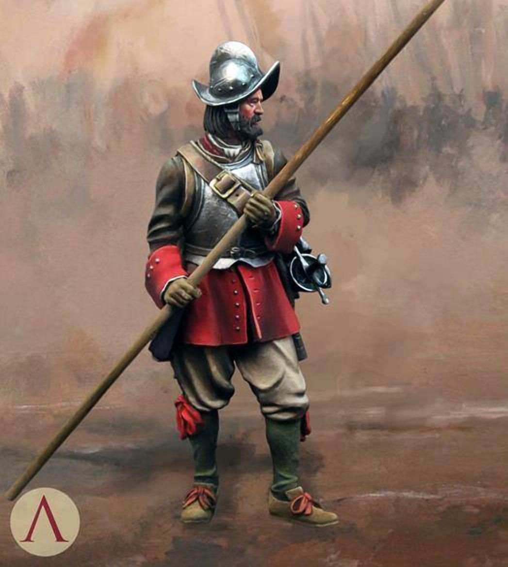Швейцарские пикинеры - городская стража Брест-Литовска