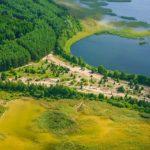 Браславские озера с высоты птичьего полета