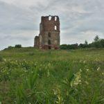 Вид на остатки Смолянского замка