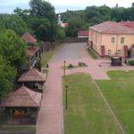 Внутренний двор Мозырьского замка, вид с высоты