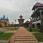 Внутренний двор Мозырьского замка