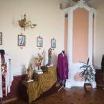 Выставка одежды в усадьбе Козел-Поклевских