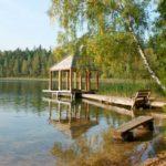 Голубые озера в Любанском районе фото