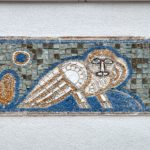 Иезуитский коллегиум, вывеска над входом