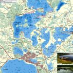 Карта Бораславских озер