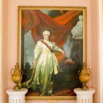 Картина в дворце Потемкина в Кричеве