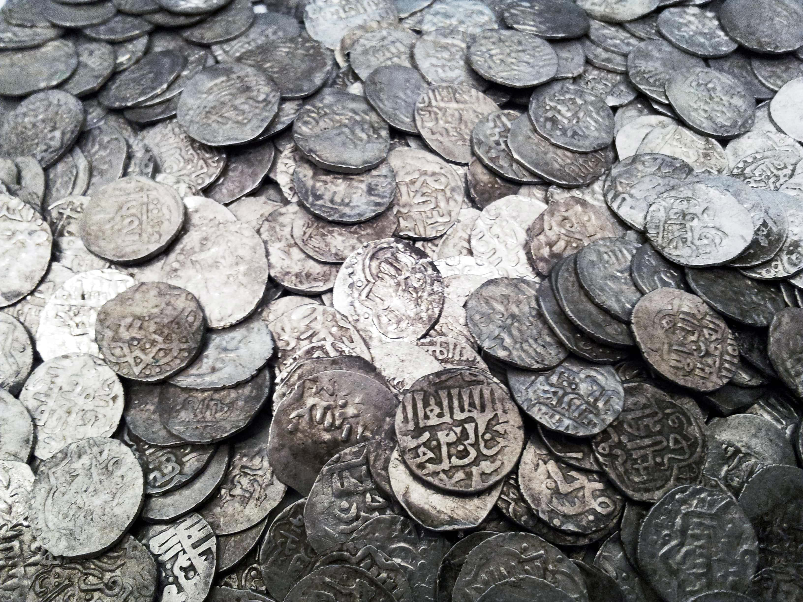 Клад серебрянных дирхемов найденный в Брестском районе