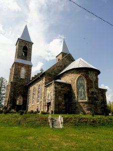 Костел Святого Иосифа в Рубежевичах, тыльная сторона