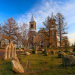 Костёл Святого Иосифа, осень
