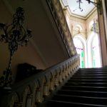 Лестница ведущая на 2 этаж усадьбы