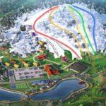 Лыжный комплекс «Логойск», схема
