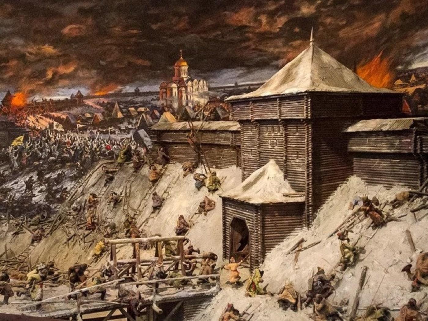 Могилевчане не смогли оборонить свой город от татар
