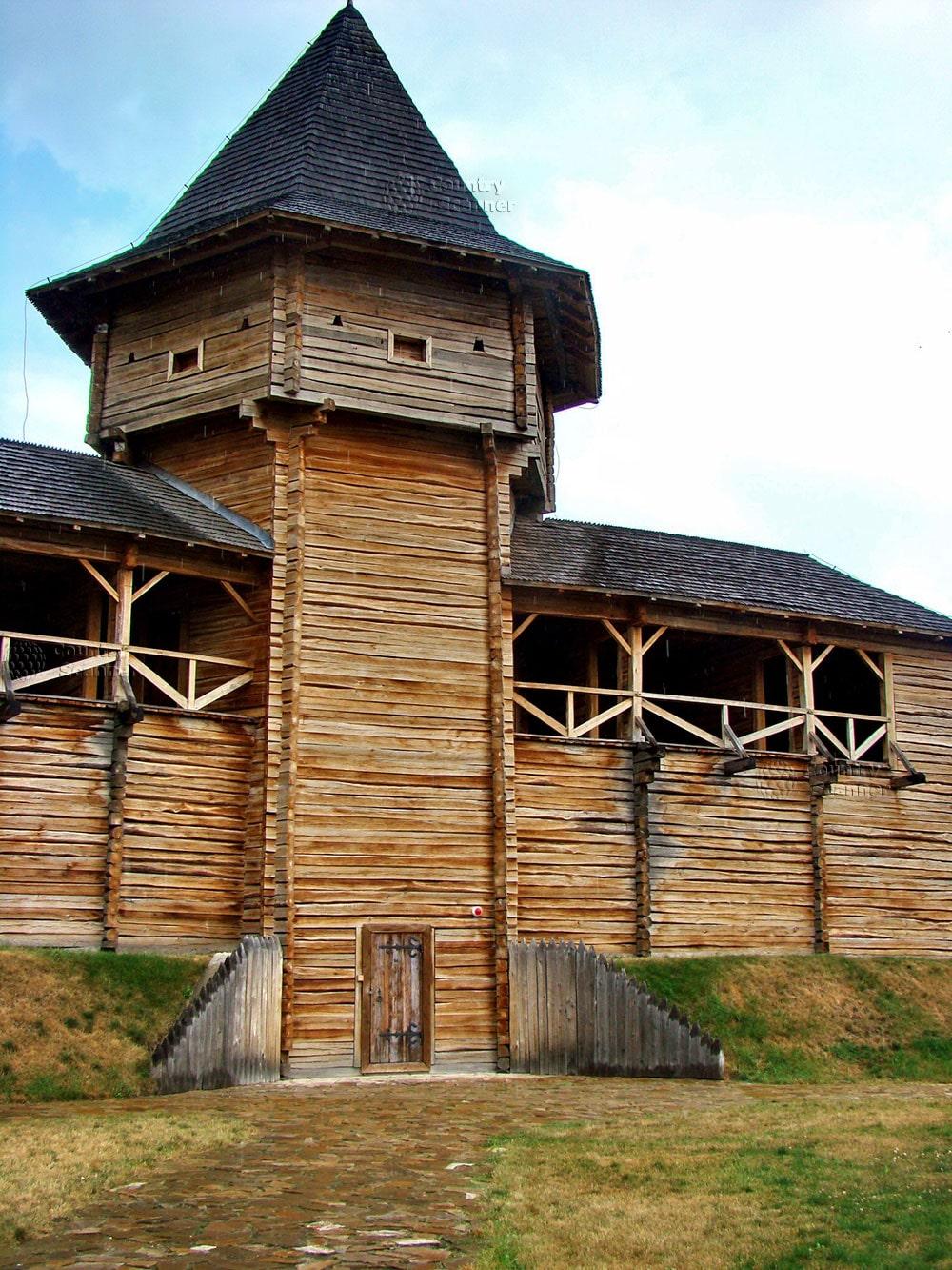 Могилев был отстроен в стиле деревянной литовской крепости