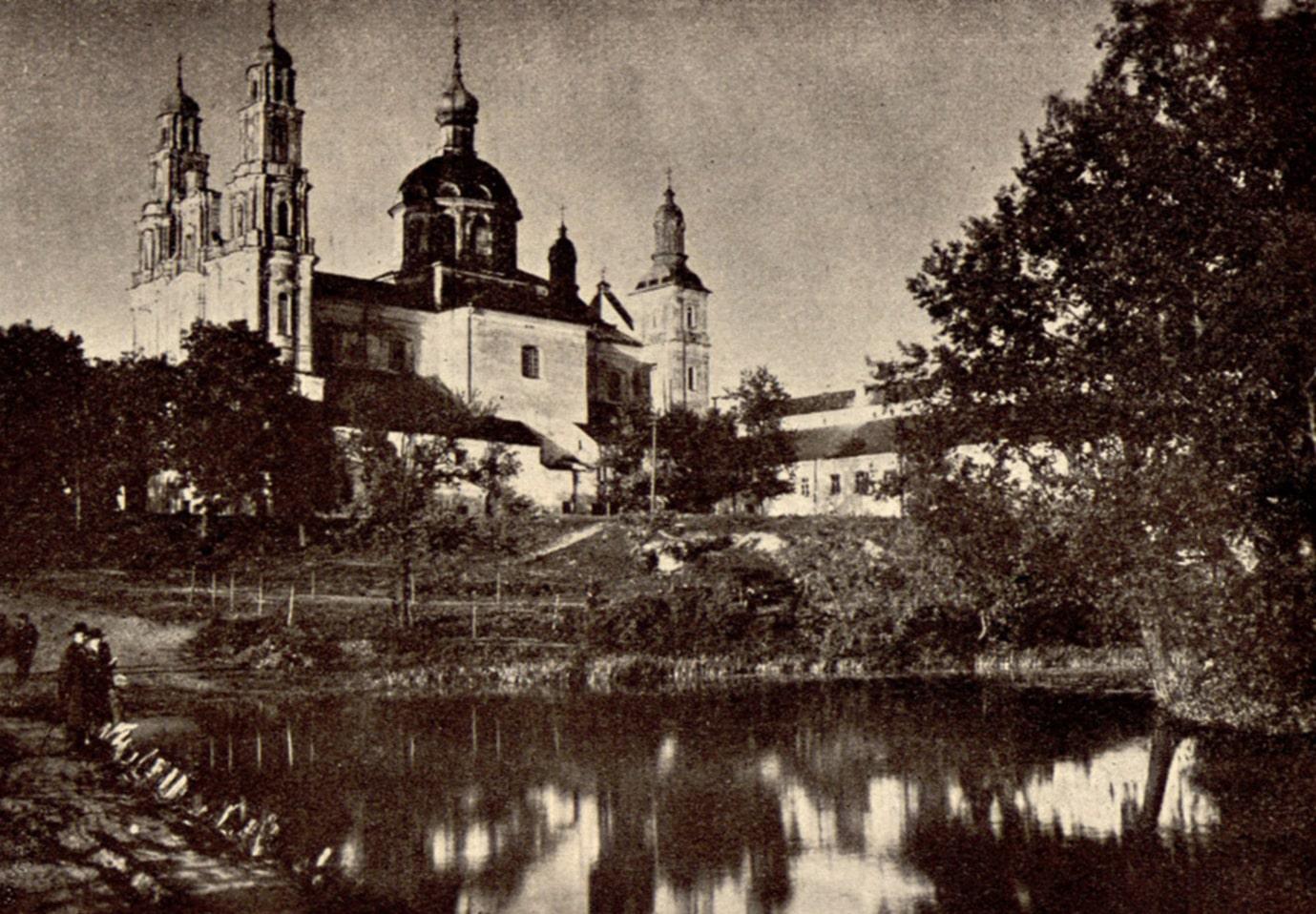 Монастырь в Глубоком - место ночевки Наполеона