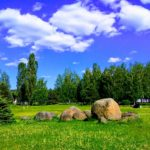 Музей валунов, лето