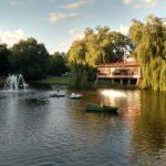 Озеро в парке 1 мая, Брест