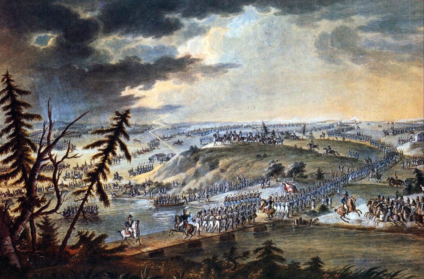 Переправа Наполеона через Неман