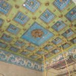 Потолок в дворце в Жиличах