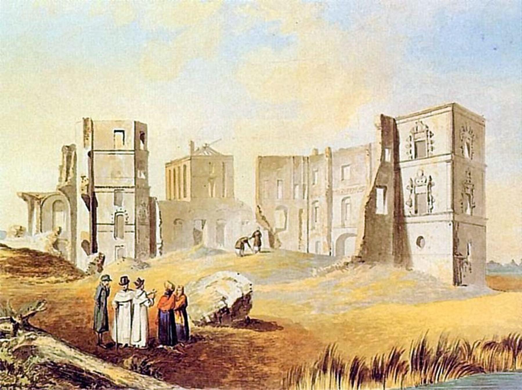 Смолянский замок в 19 столетье