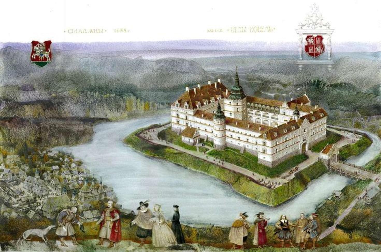 Смолянский замок после постройки