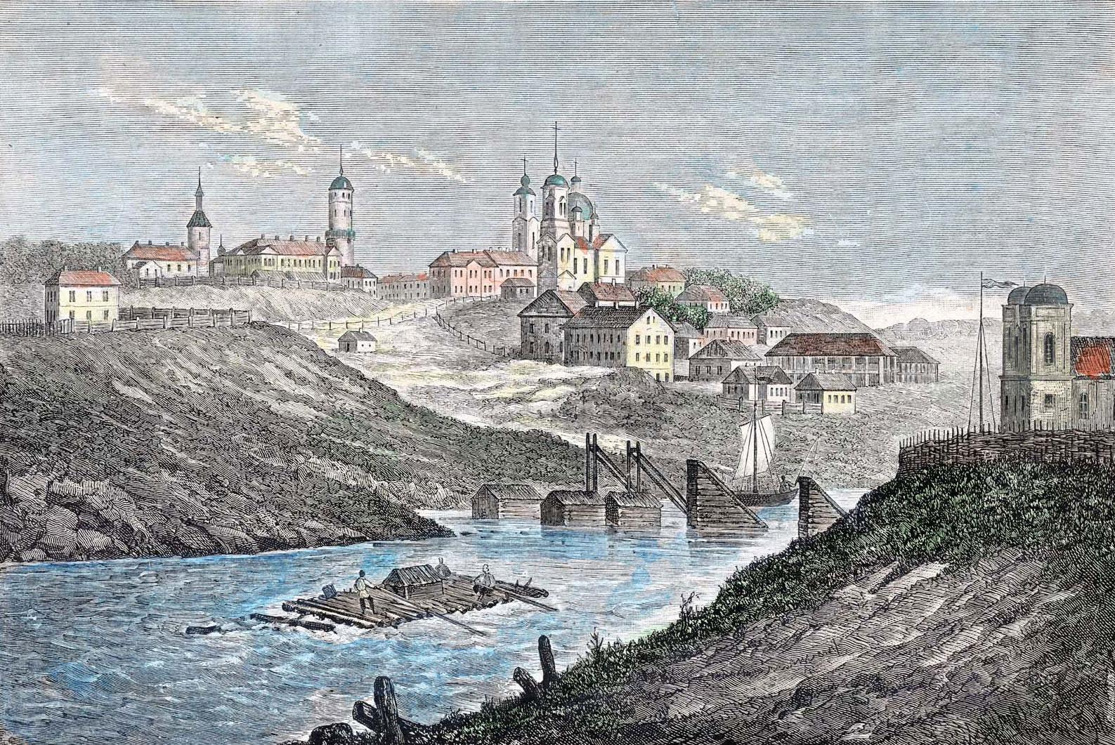 Средневековый Могилев