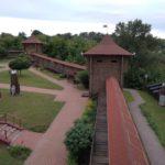 Стены Мозырьского замка