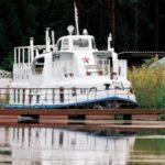 Теплоход на Браславских озерах