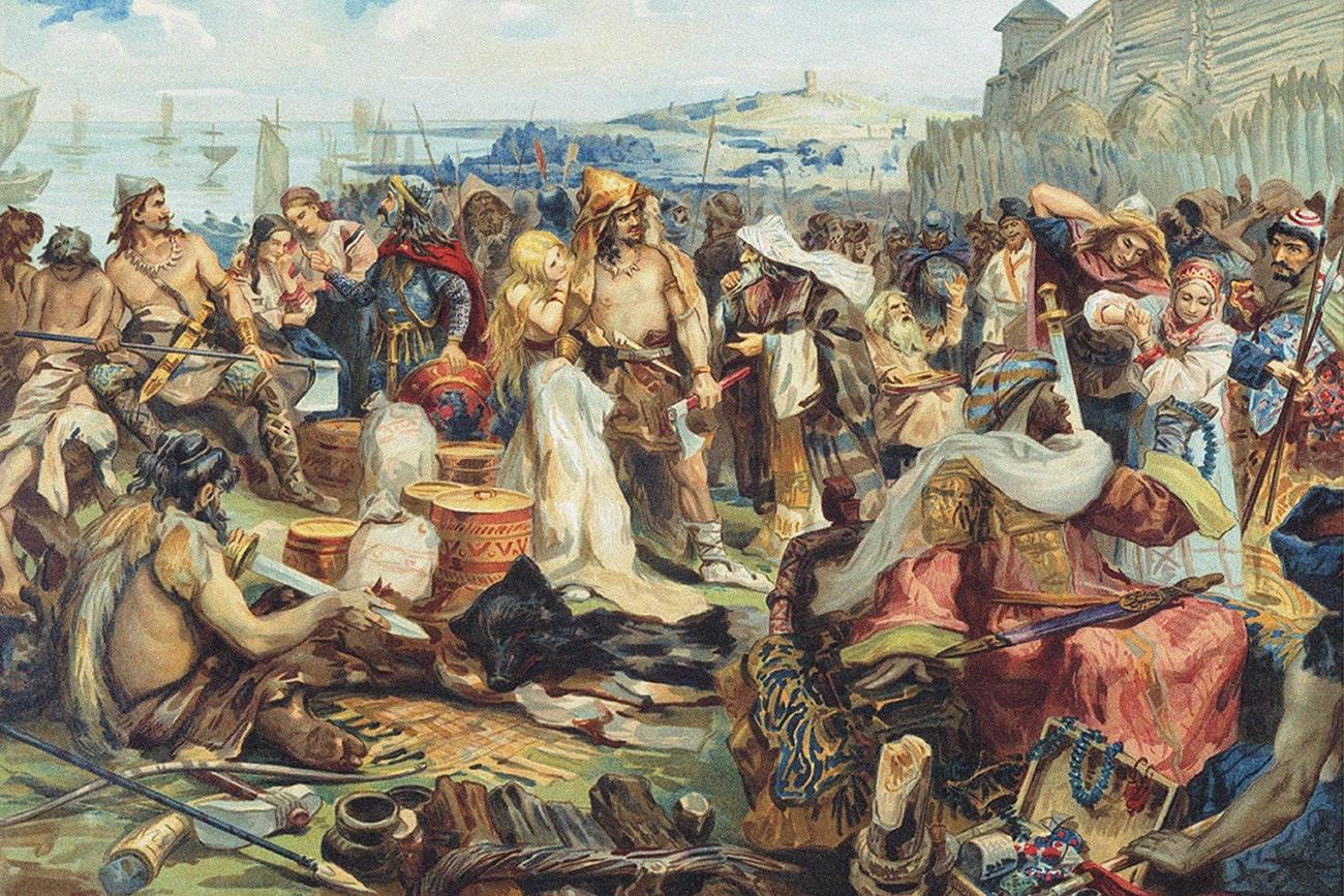 Туров в 11 веке крупный торговый центр