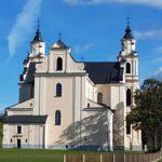 Тыльная сторона костела в Будславе