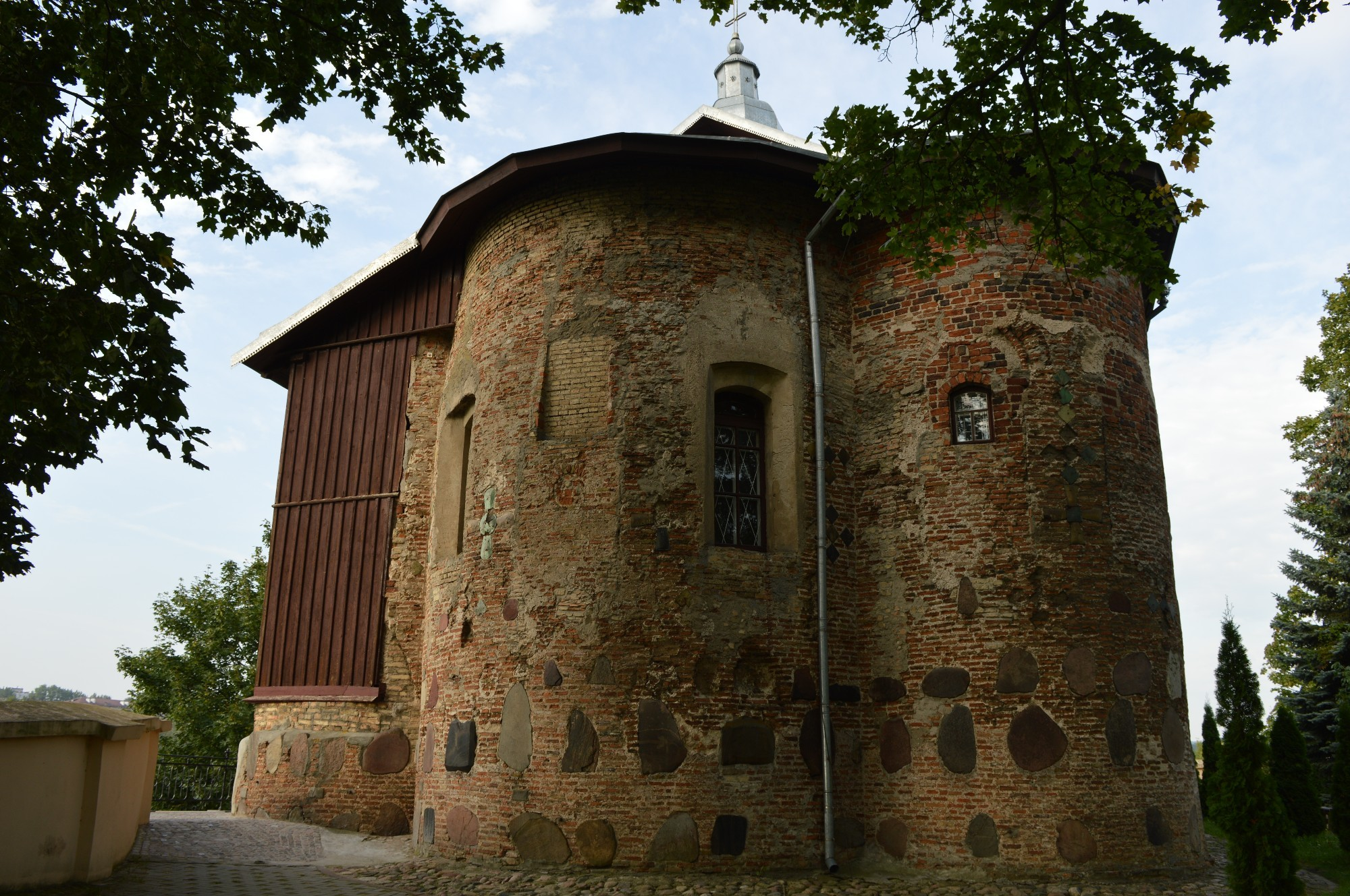 Церковь романского типа в Гродно