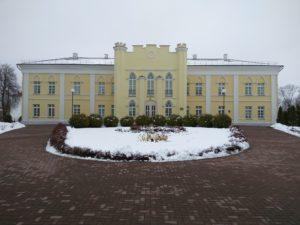 дворец Потемкина в Кричеве, зима