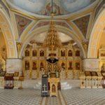 храм трёх святителей в могилеве, иконостасс