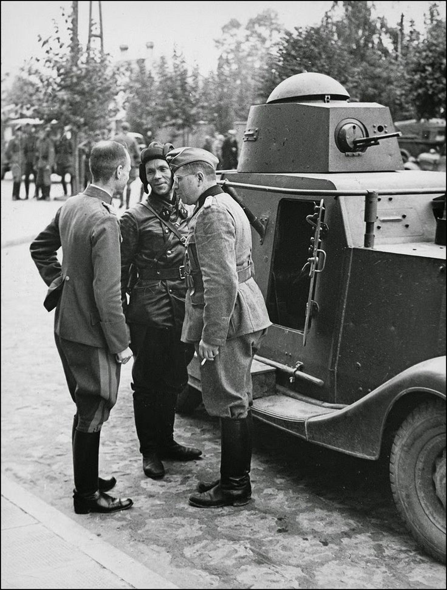 В Бресте 1939 немцы еще были дружелюбные