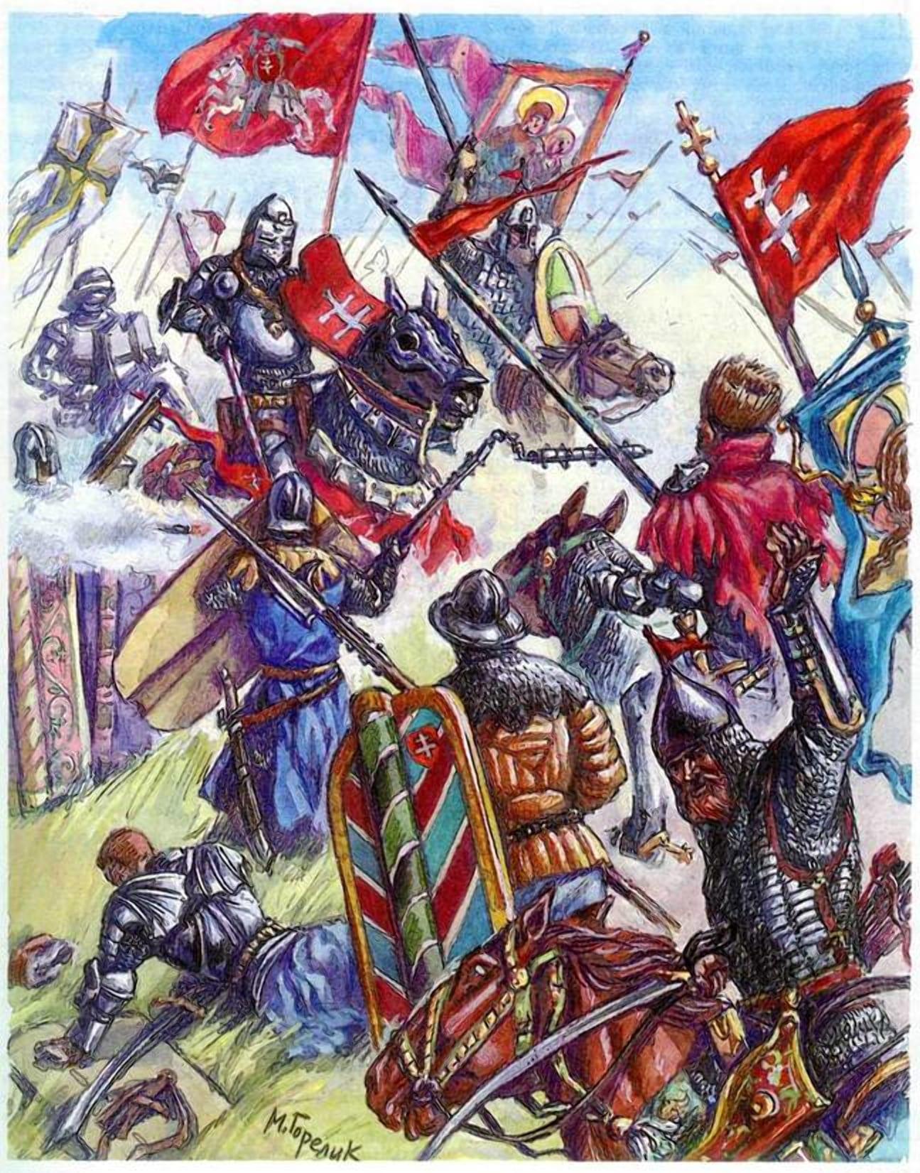 Гражданская война ВКЛ помешала объединению Московского и Литовского княжеств