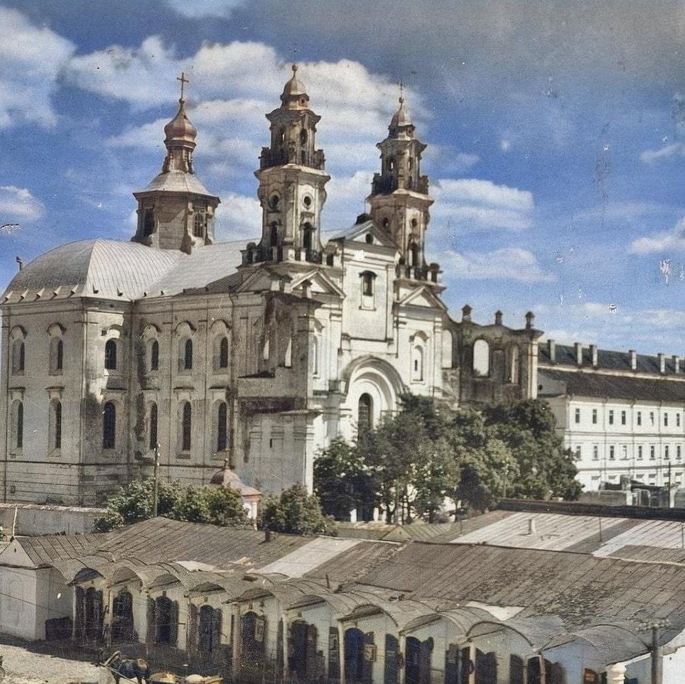 Иезуитский комплекс в Пинске - оплот белорусской инквизиции